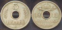 5 Heller 1913 J Kolonien / Ostafrika Deutsch-Ostafrika 5 Heller 1913 J ... 35,00 EUR