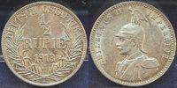 1/2. Rupie 1913 J Kolonien Deutsch-Ostafrika Deutsch-Ostafrika 1/2. Rup... 145,00 EUR