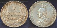 1/2. Rupie 1910 J Kolonien Deutsch-Ostafrika Deutsch-Ostafrika 1/2. Rup... 135,00 EUR