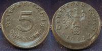 5 Pfennig 1941 A Deutschland / Drittes Reich Drittes Reich 5 Pfennig 19... 95,00 EUR