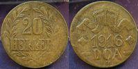 20 Heller 1916T Kolonien Deutsch-Ostafrika Deutsch-Ostafrika 20 Heller ... 95,00 EUR