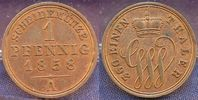 1 Pfennig 1858 A Altdeutschland / Schaumburg-Lippe Schaumburg-Lippe 1 P... 25,00 EUR
