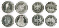 5 Mark die ersten vier 1952,1955,1957 Bundesrepublik Deutschland 5Mark ... 985,00 EUR  +  8,95 EUR shipping