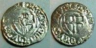 Deutscher Orden Schilling Deutscher Orden    Konrad von Jungingen 1393-1407   übliche Ausprägung, ss-vz