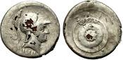 Fouree denarius. 27BC-14AD Rome. Augustus....
