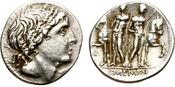 DENARIUS. 109-108 BC. ROME. REPUBLIC. MEMM...