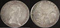 1/2 Kronentaler 1797 C Österreich Franz II. - Prag ss  45,00 EUR  zzgl. 5,00 EUR Versand