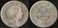 1/2 Gulden 1838 Bayern Ludwig I.  s-ss  35,00 EUR  zzgl. 5,00 EUR Versand