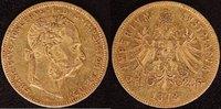 8 Florin 1878 Österreich  ss  290,00 EUR  zzgl. 5,00 EUR Versand