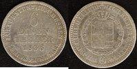 1/6 Taler 1836 Hessen-Kassel Wilhelm II. f.ss  25,00 EUR  zzgl. 5,00 EUR Versand