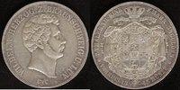 Vereins-Doppel-Taler  1845 Braunschweig  Wilhelm  Rf., ss+  320,00 EUR  zzgl. 5,00 EUR Versand