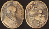 Bronze-Medaille vergoldet 1712 Vatikan Pius V. (1566-72) s-ss, Hksp  190,00 EUR  zzgl. 5,00 EUR Versand
