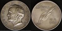 AG-Medaille 1933 Sachsen 50. Todestag von Richard Wagner vz  150,00 EUR  zzgl. 5,00 EUR Versand