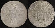 32 Schilling 1808 Hamburg, Stadt 32 Schilling, Franz. Doppelmark 1808 ss+  80,00 EUR  zzgl. 5,00 EUR Versand