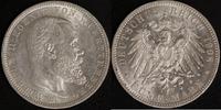 5 Mark 1908 Württemberg Wilhelm II. ss  40,00 EUR  zzgl. 5,00 EUR Versand