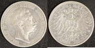 2 Mark 1904 Preußen Wilhelm II. (1888-1918) ss-  15,00 EUR  zzgl. 5,00 EUR Versand