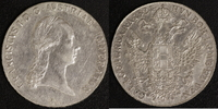 Kronentaler 1824 A Österreich Franz II. ss  100,00 EUR  zzgl. 5,00 EUR Versand