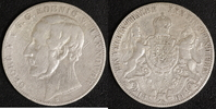Taler 1861 Hannover Georg V. ss, Kratzer  40,00 EUR  zzgl. 5,00 EUR Versand