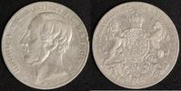 Taler 1861 Hannover Georg V. ss, Rf  40,00 EUR  zzgl. 5,00 EUR Versand