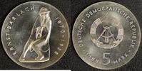 5 Mark 1988 DDR Ernst Barlach vz-st  45,00 EUR  zzgl. 5,00 EUR Versand
