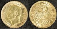 20 Mark 1911 Baden Friedrich II. ss. Fassungsspur  330,00 EUR  zzgl. 5,00 EUR Versand