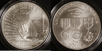 1 Dollar 1994 USA Gedenkstätte Vietnamkrieg st /OVP/Zert./Etui  40,00 EUR  zzgl. 5,00 EUR Versand