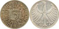 5 DM 1960 G  1960G vz/st Patina vz/st  41,50 EUR  zzgl. 6,00 EUR Versand