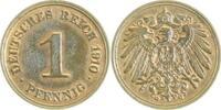 1 Pfennig 1910 G  1910G vz/st vz/st  28,00 EUR inkl. gesetzl. MwSt., zzgl. 4,80 EUR Versand