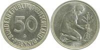 50 Pfennig 1971 D  1971D kleines Münzzeichen ss/vz ss  /  vz  32,00 EUR inkl. gesetzl. MwSt., zzgl. 4,80 EUR Versand