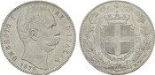 5 Lire 1879, R-Rom ITALIEN Umberto I., 187...