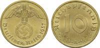 10 Reichspfennig 1937, A. DRITTES REICH  Stempelglanz.  19,00 EUR  zzgl. 4,50 EUR Versand