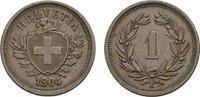 Rappen 1904, B. SCHWEIZ  Vorzüglich +  60,00 EUR  zzgl. 4,50 EUR Versand