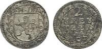 2 Kreuzer 1741, GCF. HESSEN Ludwig VIII., 1739-1768. Sehr schön +.  15,00 EUR  zzgl. 4,50 EUR Versand