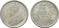 1/4 Rupee 1936. INDIEN George V., 1910-1936. Vorzüglich +.  25,00 EUR