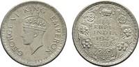1/4 Rupee 1943. INDIEN George VI., 1936-1947. Fast vorzüglich.  25,00 EUR