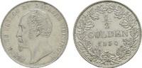 1/2 Gulden 1854. SACHSEN Bernhard Erich Freund, 1803-1866. Vs. Kl. Krat... 75,00 EUR  zzgl. 4,50 EUR Versand