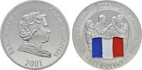 1 Dollar 2001. COOK ISLANDS Elizabeth II. seit 1952. Polierte Platte.  15,00 EUR  zzgl. 4,50 EUR Versand