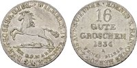 16 Gute Groschen 1834. BRAUNSCHWEIG-LÜNEB. Wilhelm IV., 1830-1837. Vorz... 140,00 EUR  zzgl. 4,50 EUR Versand