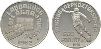 500 Forint 1989. UNGARN Volksrepublik, 1949-1989. Polierte Platte.  14,00 EUR