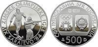 500 Dinara 1983. JUGOSLAWIEN  Polierte Platte.  20,00 EUR
