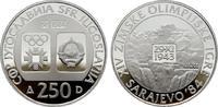 250 Dinara 1983. JUGOSLAWIEN  Polierte Platte.  13,00 EUR