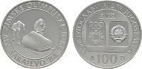 100 Dinara 1983. JUGOSLAWIEN  Polierte Platte.  10,00 EUR