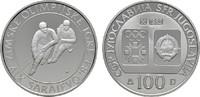 100 Dinara 1982. JUGOSLAWIEN  Polierte Platte.  10,00 EUR