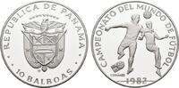 10 Balboas 1982. PANAMA Republik. Polierte Platte.  20,00 EUR