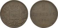 Ku.-Kreuzer 1840. SCHWARZBURG Friedrich Günther, 1807-1867. Kl. Rdf. Se... 8,00 EUR