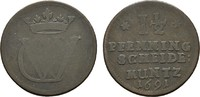 1 1/2 Pfennig 1691 Celle. BRAUNSCHWEIG UND LÜNEBURG Georg Wilhelm, 1665... 10,00 EUR