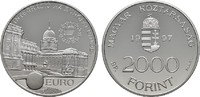 2.000 Forint 1997. UNGARN 2. Republik seit 1989. Polierte Platte.  22,00 EUR