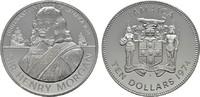 10 Dollars 1974. JAMAIKA Elizabeth II. seit 1952. Polierte Platte.  35,00 EUR