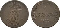 Ku.-Pfennig 1822 ANHALT Alexius Friedrich Christian, 1796-1834. Sehr sc... 15,00 EUR