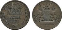 Ku.-Kreuzer 1871 Friedensfeier BADEN Friedrich I., 1852-1856-1907. Sehr... 10,00 EUR